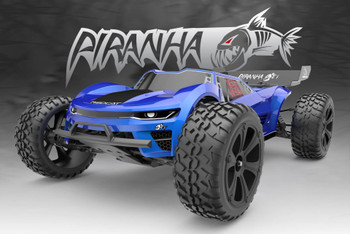 1/10 RC Truck Truggy Brush 2.4ghz -RTR- Blue