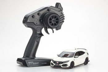 Kyosho RC Mini Z Honda Civic Type R AWD Drift White -RTR-