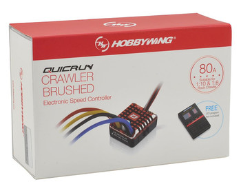 Hobbywing 1/10 WaterProof Brush ESC 80 Amp Speed Control WP 1080