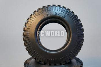 RC 1/10 Scale Truck TIRES WHEELS 1.9 ROCK CRAWLER TRUCK Wheels 108mm Diameter