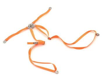 RC Scale 4 Point Racing Harness SEAT BELT Straps Orange