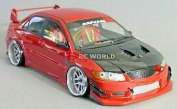 1/10 Mitsubishi evolution Drift  Yokohama Tire Decal