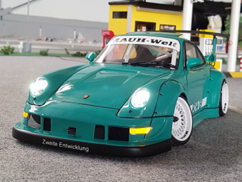 1/10 Body Shell PORSCHE Turbo RWB Wide Body *Clear*