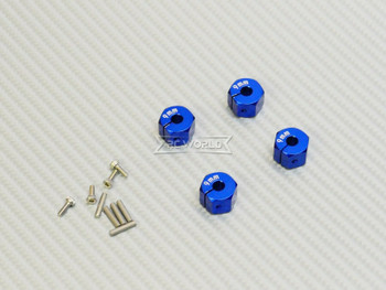 9MM WHEEL Spacer 12MM HUB -4 pcs- BLUE