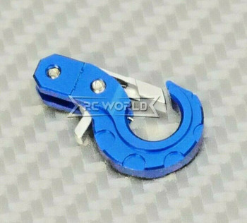 1/10 Scale Metal Latch Hook  Aluminum (1PC) BLUE