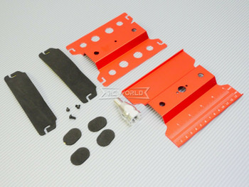 1/10 Metal WORK STAND Maintenance Lift Chassis Tool -RED-