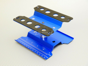 1/10 Metal WORK STAND Maintenance Lift Chassis Tool -BLUE-
