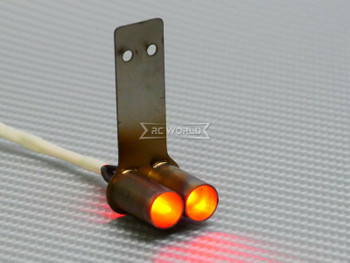 1/10 RC EXHAUST Backfire LED Effect