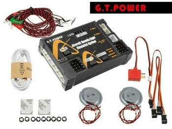 G.T Power Aircraft Engine SOUNDS Simulated Light System For RC Plane BLUETOOTH