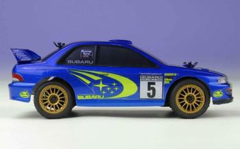 RC 1/24 Mini SUBARU WRC 1999 Brushless 4WD Rally Car -RTR-