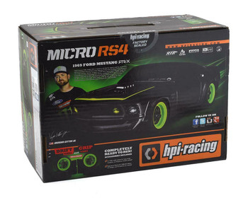 HPI RC 1/18 Micro FORD MUSTANG RS4 4WD DRIFT