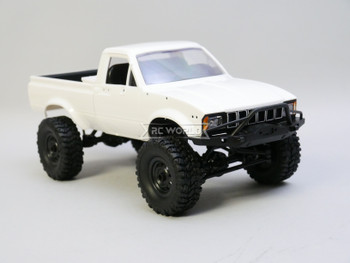 RC 1/16 Truck TOYOTA Pick Up 4X4 RC Rock Crawler *RTR* White