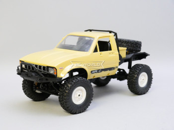 RC 1/16 Truck TOYOTA Pick Up No Bed  4X4 RC Rock Crawler *RTR* Yellow