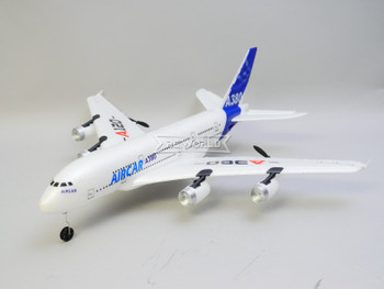 RC Jetliner Airbus A380 Electric Micro Airplane 3 Channel 2.4GHZ -RTF-