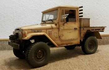 RC 1/16 Truck TOYOTA FJ40 Pick Up 4X4 RC Rock Crawler *KIT* -BROWN-