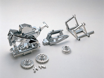 Kyosho HOR Bike Parts Chrome Plated FRAME Set #GPW13