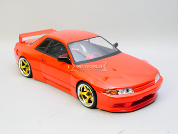 1/10 RC Car BODY Shell Nissan R32 GTR Wide Body 200mm *FINISHED* Red