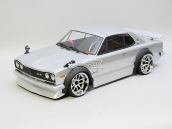 RC Car BODY  Nissan Skyline HT2000 GTR Wide Body 200mm