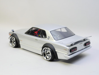 1/10 RC Car BODY Shell Nissan Skyline HT2000 GTR Wide Body 200mm *FINISHED*