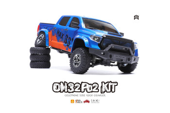 Orlandoo RC 1/32 Micro FORD RAPTOR 4X4 Rock Crawler Truck -KIT-