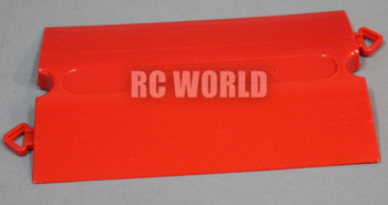 Rc TRACK Parts STRAIGHT Red Tetsujin Kerbs