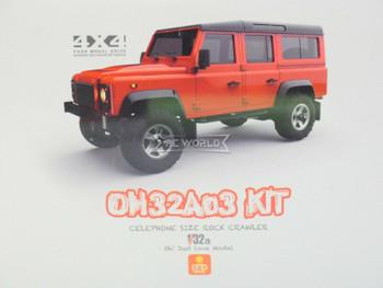 Orlandoo RC 1/32 Micro LAND ROVER DEFENDER 110 4X4