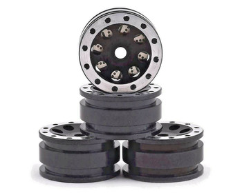 Orlandoo RC 1/32 Parts Aluminum WHEELS Rims (4PCS) -BLACK-