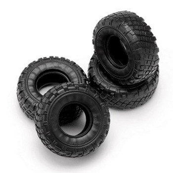 Orlandoo RC 1/32 Parts Rubber TIRES (4PCS) -BLACK- GA1008