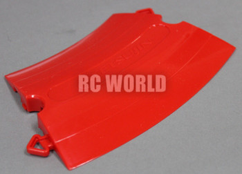 Rc TRACK PARTS Corners RED Tetsujin Kerbs