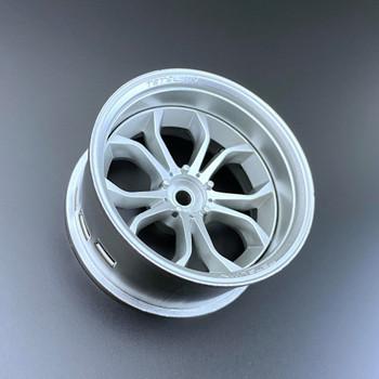 Tetsujin DEEP SPIDER RC Car 1/10 Wheels SILVER Adjustable Offset 3-6-9mm -4 RIMS