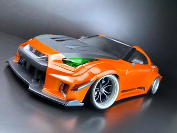 Tetsujin DEEP SPIDER RC Car 1/10 Wheels GUN METAL Adjustable Offset 3-6-9mm -4 RIMS