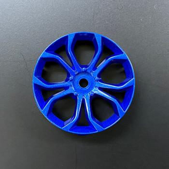 etsujin DEEP SPIDER RC Car 1/10 Wheels BLUE Adjustable Offset 3-6-9mm -4 RIMS