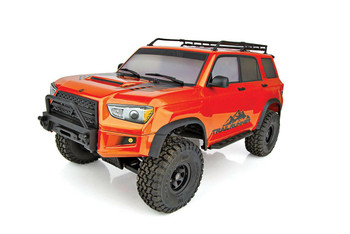 RC 1/10 Truck Enduro Toyota 4 Runner Trail Runner 4X4 RTR -Orange-