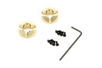 Kyosho Part Mini Z 4x4 MXW005 Brass Front Hub (2pcs)