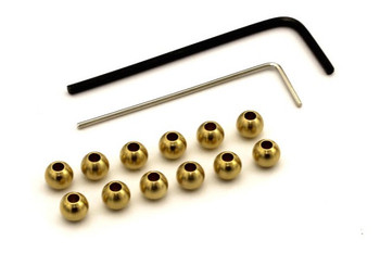 Kyosho Part Mini Z 4x4 MXW007 4.8 Brass Ball (12pcs)