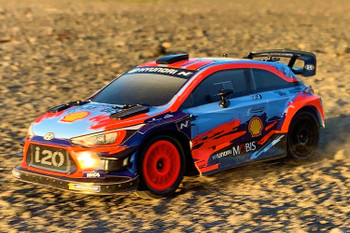 RC 1/24 Mini Hyundai i20 WRC Brushless 4WD Rally Car -RTR-