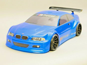 1/10 RC BMW E46 M3 RC Car BODY Shell  200 mm *Painted* Blue