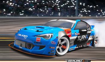 HPI RS4 Sport 3 DRIFT SUBARU BRZ Daiyoshiharas 4wd -RTR-