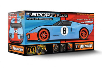 HPI RS4 Sport 3 Flux FORD GT LM Brushless 4wd -RTR-