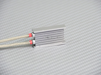 1/10 RC Front Intercooler Radiator Side Stainless Lines Small SILVER
