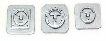 RC Scale FUEL CAP IN Scale Body Accessories (3pcs) SILVER