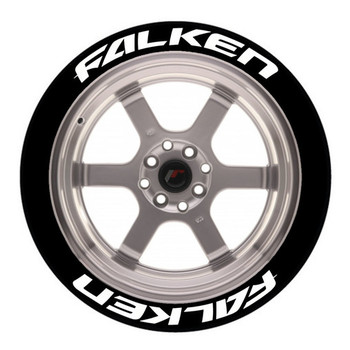1/10 Scale Tire Decal Falken Tires