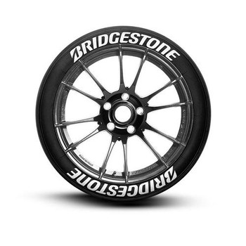 1/10 Scale Tire Decal BRIDGESTONE Tires