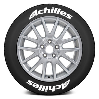 1/10 Scale Tire Decal ACHELLIS Tires