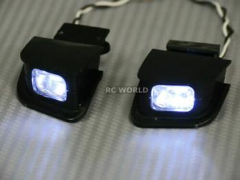1/10 RC Car Body Shell NISSAN 180SX DRIFT BODY W/ Pop Up Light -CLEAR -
