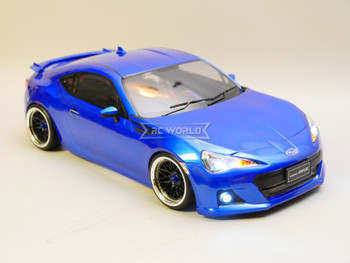 Custom RC 1/10 Drift SUBARU BRZ AWD Drift Car RTR W/ LED