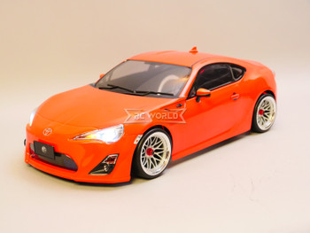 Custom RC 1/10 Drift TOYOTA 86 FRS AWD Drift Car RTR W/ LED Red