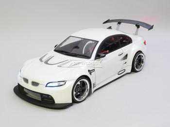 RC Car BODY Shell BMW M3 GT3 E92 200 mm w/ Light Buckets -CLEAR-
