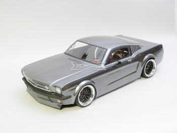 RC Car BODY Shell 1966 FORD MUSTANG -CLEAR