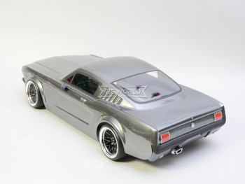RC Car BODY Shell 1966 FORD MUSTANG  -CLEAR-
